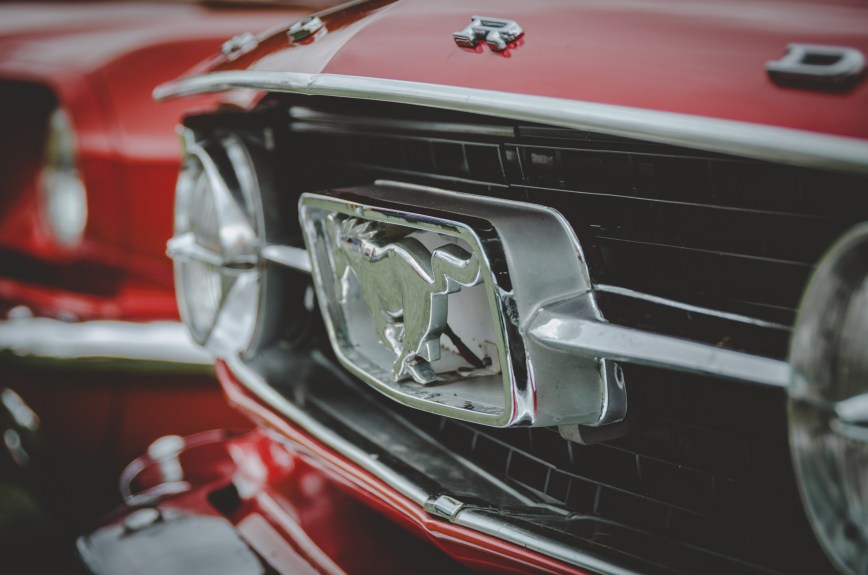 Ford Mustang Grill Badge