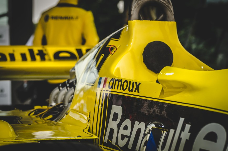 Renault F1 Goodwood Festival of Speed 2017