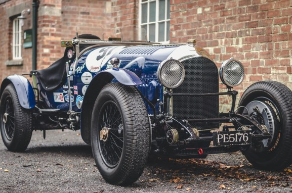 Bentley Classic Car at Bicester Heritage Sunday Scramble
