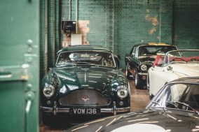 Aston Martin Classic Car at Bicester Heritage Sunday Scramble