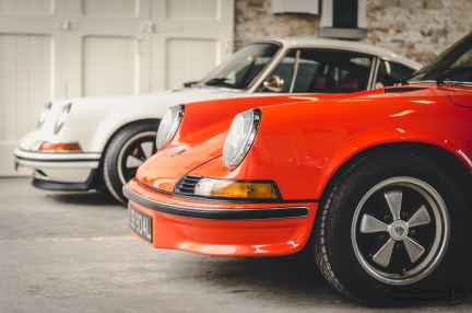 Porsche Classic Car at Bicester Heritage Sunday Scramble