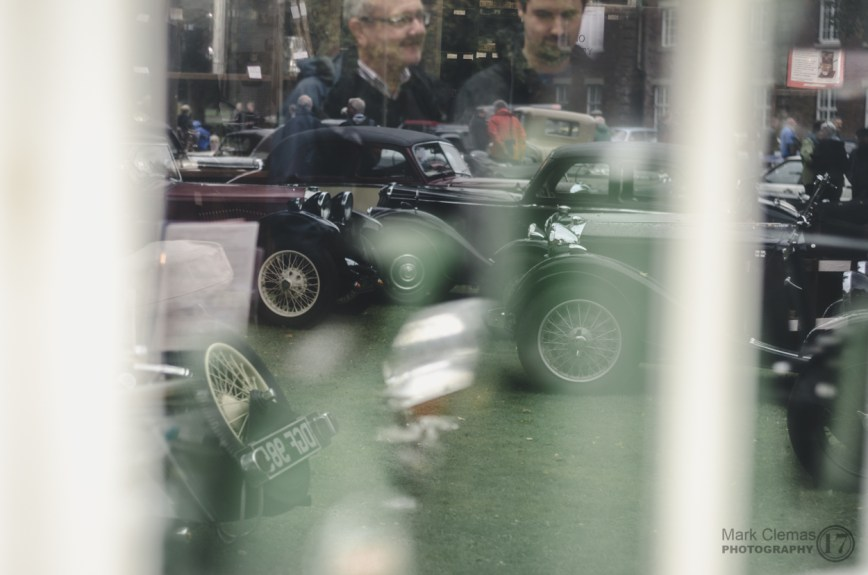 Classic Car Reflections at Bicester Heritage Sunday Scramble