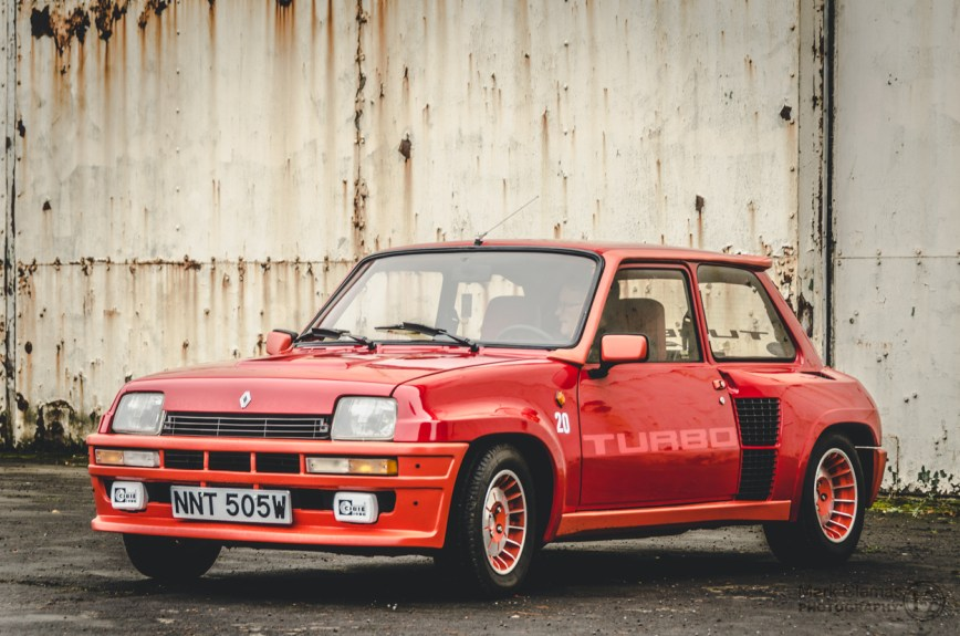 Renault 5 Turbo Classic Car at Bicester Heritage Sunday Scramble