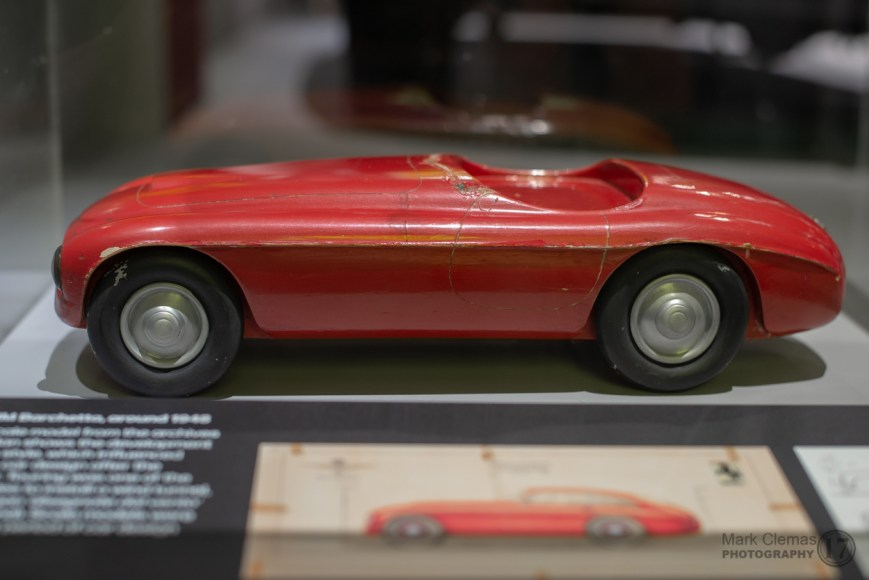 Ferrari 166 MM Wooden Design Model