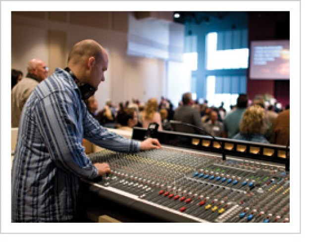 Mixing Console worship