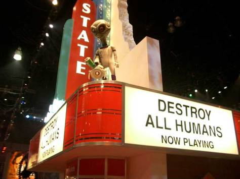 Destroy All Humans looks to be a fun game, if one can judge without seeing any gameplay...