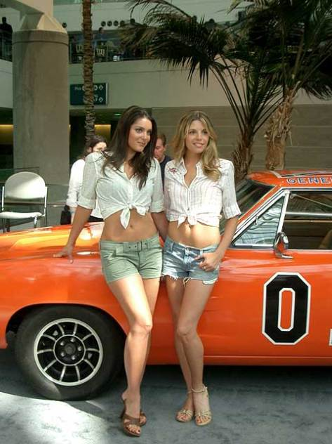 Dukes of Hazard women.  I don't remember there being more women than Daisy...