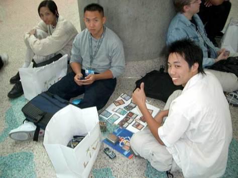 guys playing Magic