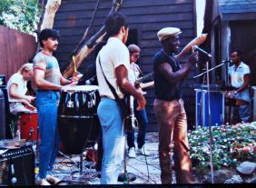Mark Dobis Guitar, Mark Prinsloo Drums