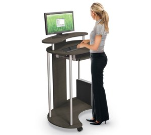 Discover the benefits of standing desks.