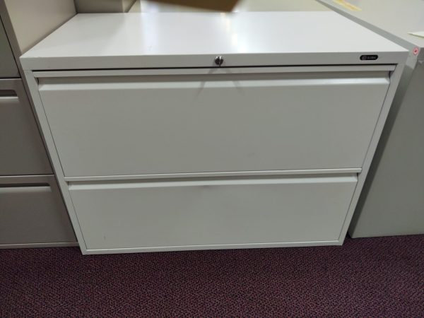GLOBAL 2 DRW 36W LATERAL FILE - WHITE - $149