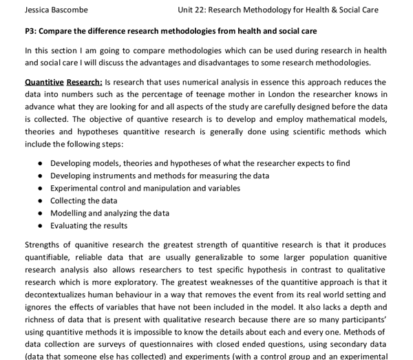 sample of methodology in research paper