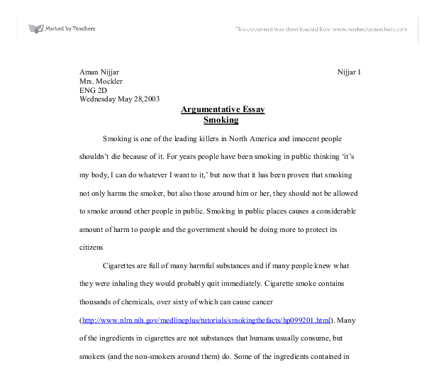 Website Analysis Project Writing For The Argument Essay For