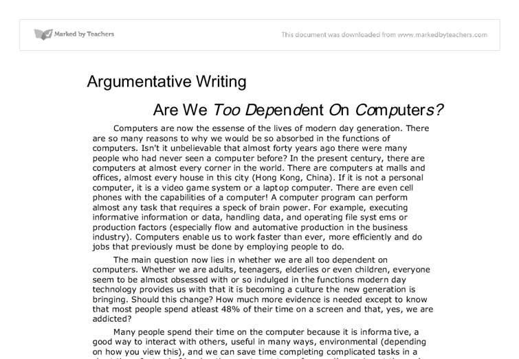 Samples Of An Argumentative Essay Hospi Noiseworks Co