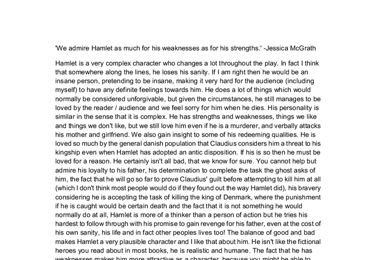 Personal Strengths And Weaknesses Essay Your Strengths And