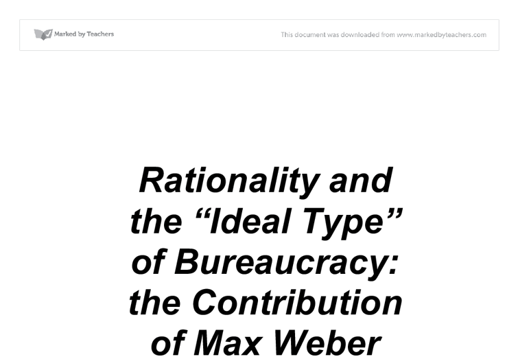 Rationality and the