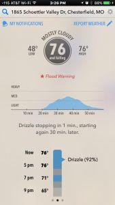 Dark Sky Severe Weather App