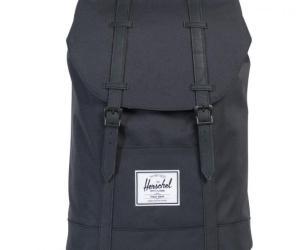Herschel Retreat Backpack 43 cm – black/black synthetic leather