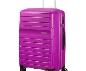 American Tourister Sunside 4-Rollen-Trolley 68 cm – ultraviolett