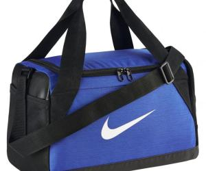 Nike Brasilia Sporttasche AOP S 52 cm – game royal/black/white