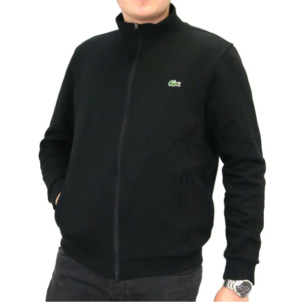 Lacoste Full Zip Fleece Sweatshirt Men' Pullover Jumper
