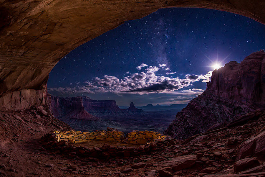 Mark Epstein Photography | Starrry Night in the False Kiva