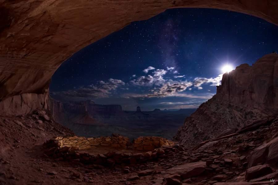 Mark Epstein Photo   Starry Night in the False Kiva