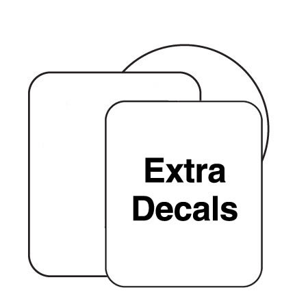 Extra Decals for Dimple, Wedge or Pyramid Markers