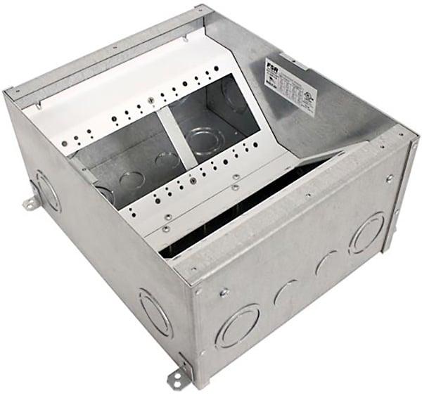 FSR FL500P Back Box  6 inch Deep Floor Box Pocket