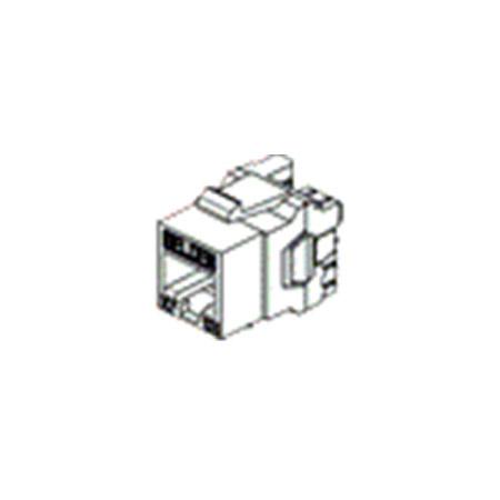 Belden AX102284 10GX Cat6A Keystone Modular Jack Orange