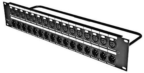 Switchcraft QGPK116MB 16 XLR Male Patchbay