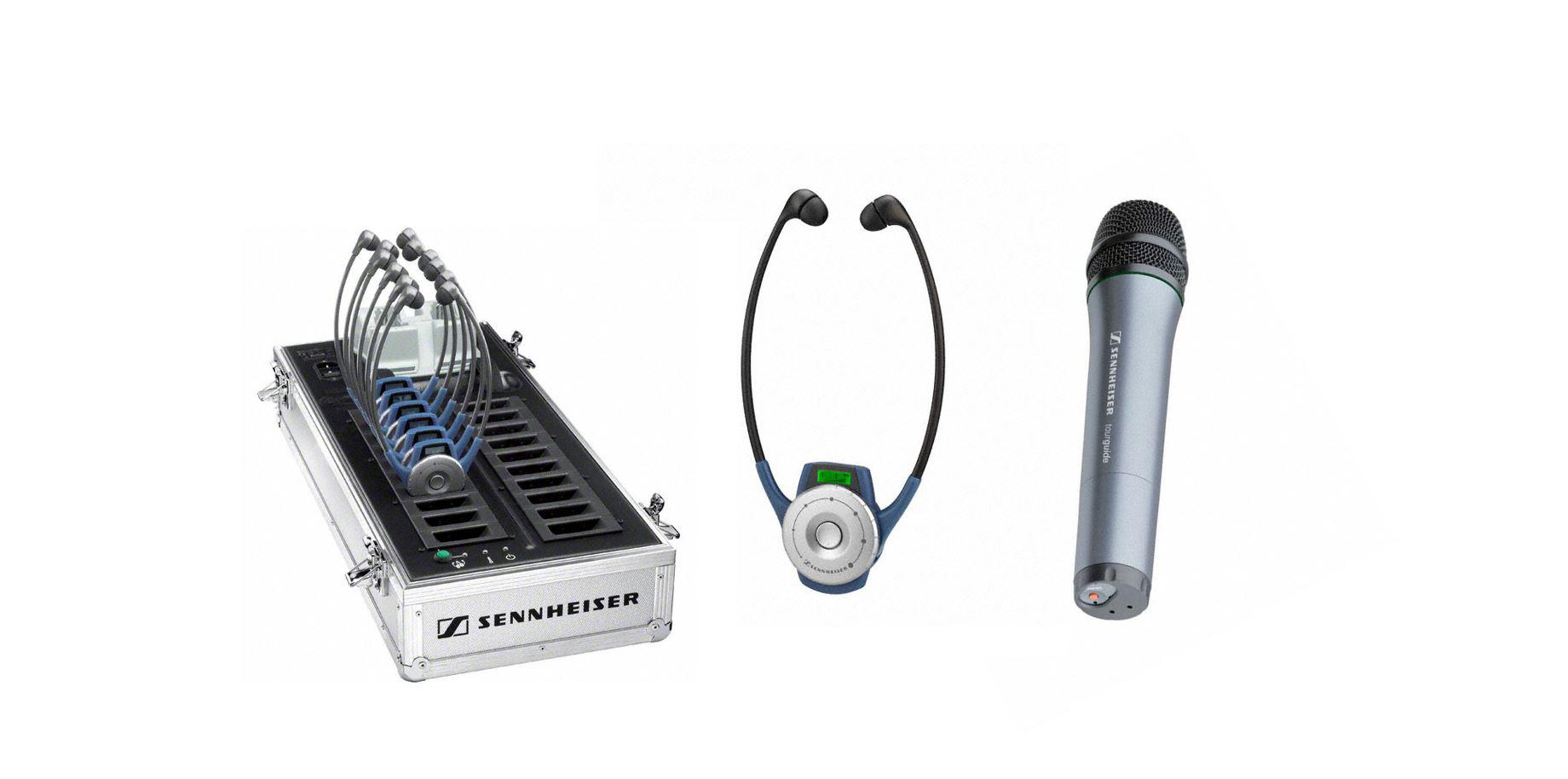 Sennheiser TG2020-20HH Tourguide 2020-20 Handheld Complete