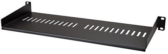 https www markertek com product st cabshelf1u7v startech cabshelf1u7v vented 1u rack shelf 7 inch deep