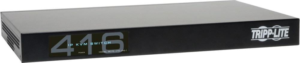 medium resolution of tripp lite b072 016 ip4 16 port cat5 kvm over ip switch 1 local 4 remote