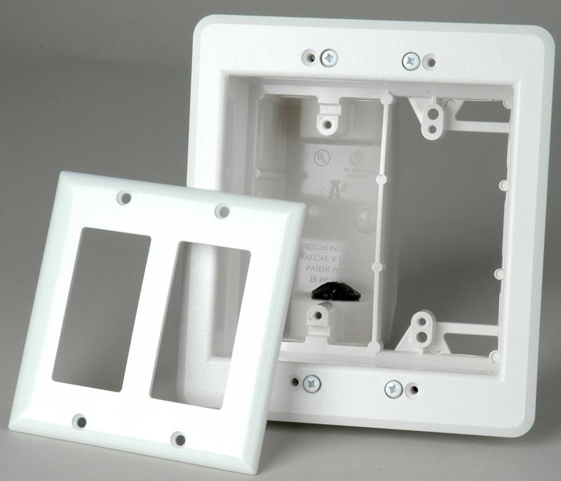 Single Gang Surface Mount Wiring Box White Pi Manufacturing