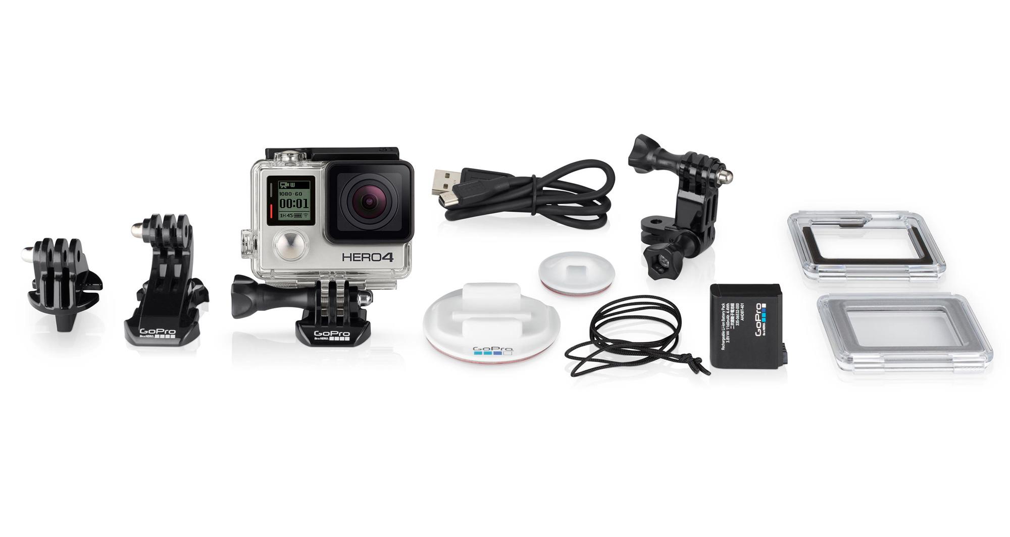 GoPro HERO4 Silver/Surf 4K HD POV Video Action Camera