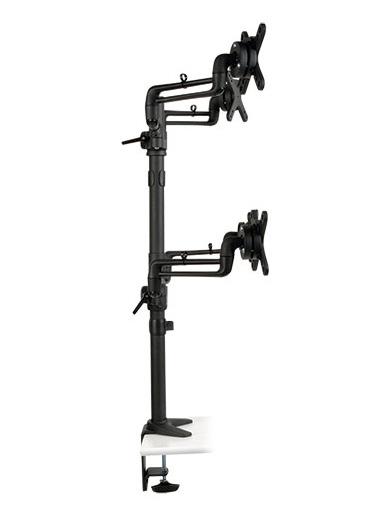 Tripp Lite DDR1327SQFC Quad Full Motion Flex Arm Desk