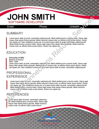 Visual CV Samples Free Visual Resume With Purchase