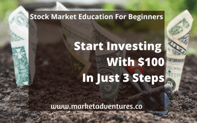 Start Investing With $100 In 3 Steps