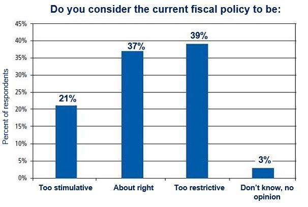 Opinions regarding fiscal policy