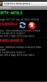 StockINDIA v1 0 first ever Android Application to provide NSE
