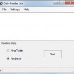 Odin Feeder – Realtime Datafeed from Odin Diet to Amibroker / Ninja Trader