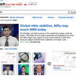 Rediff Launched Realtime News – Search the News as it happens