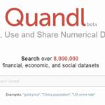 Quandl – Access 8 million Historical datasets
