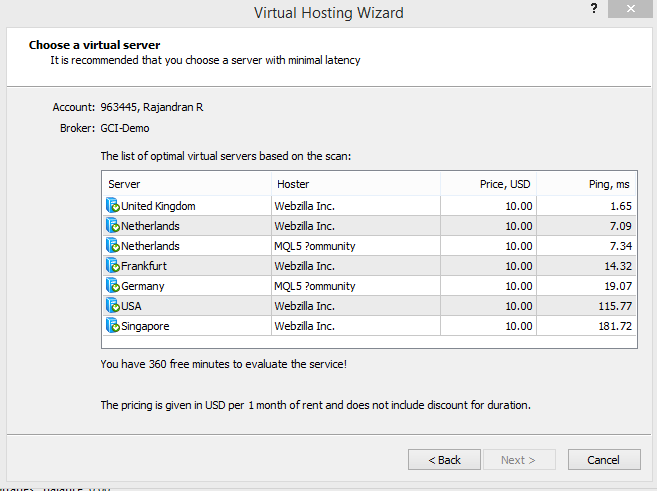 Virtual Hosting Wizard