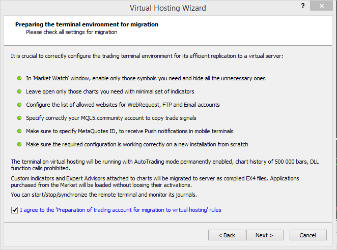 Virtual hosting setup 2