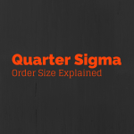 Derivatives – Median Quarter-Sigma Order Size – Explained