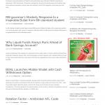 Main & Single Page AD Slot