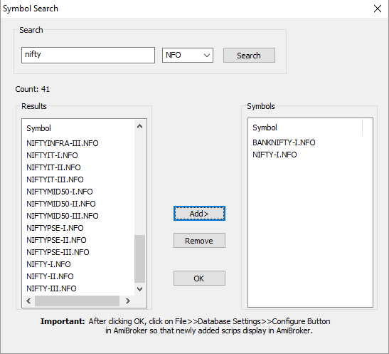 NimbleDatapro 2 – Tick by Tick data Connection Setup Guide for