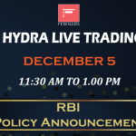 RBI Policy Announcement – Live Trading Room and Recorded Webinars